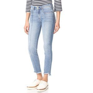 McGuire Denim Valetta Seamed Straight Ankle Jeans